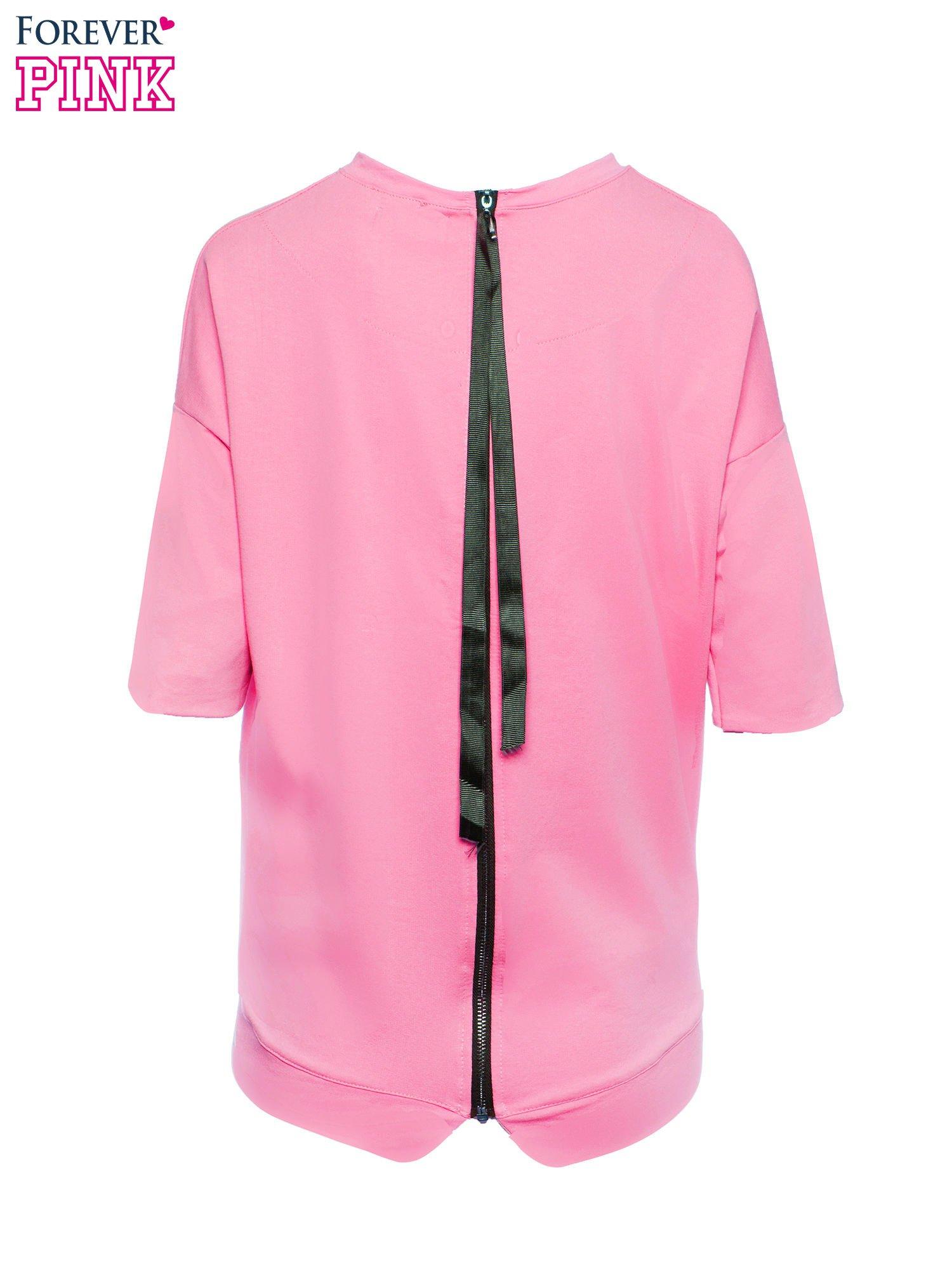 Koralowa bluza z suwakiem z tyłu                                  zdj.                                  3