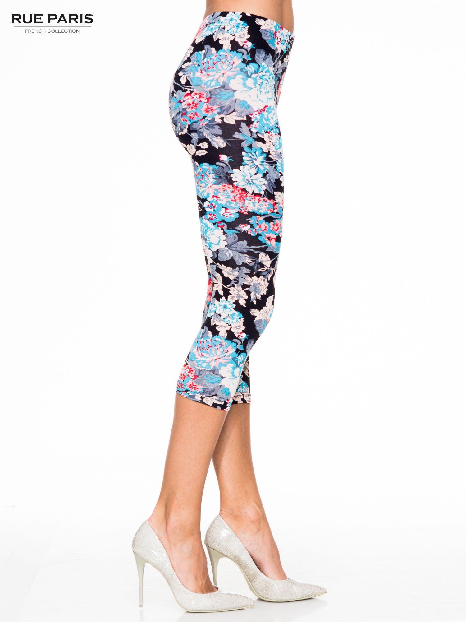 Kwiatowe legginsy długości 3/4 II                                  zdj.                                  3