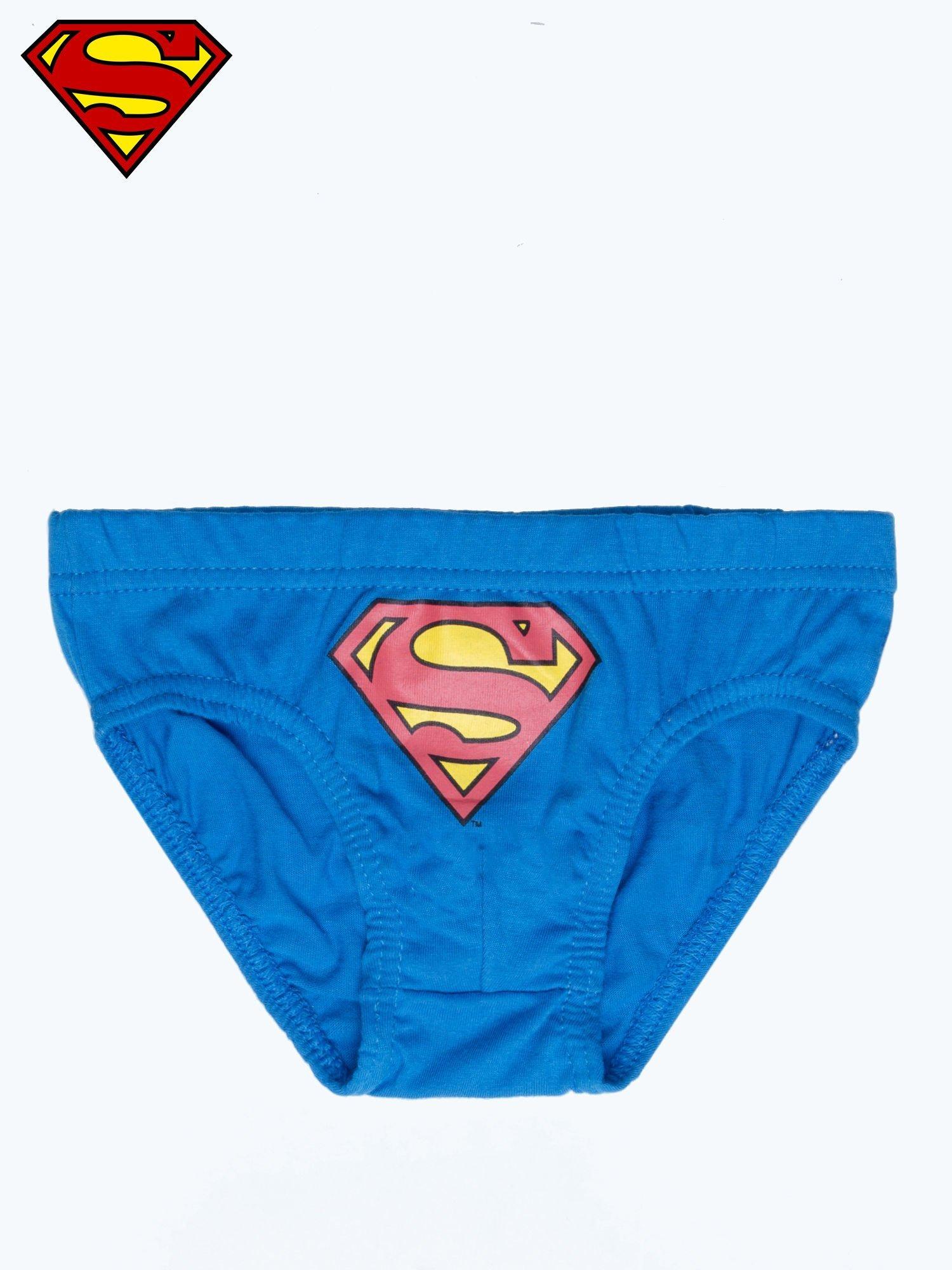 Majtki chłopięce bawełniane SUPERMAN 3 szt                                  zdj.                                  2