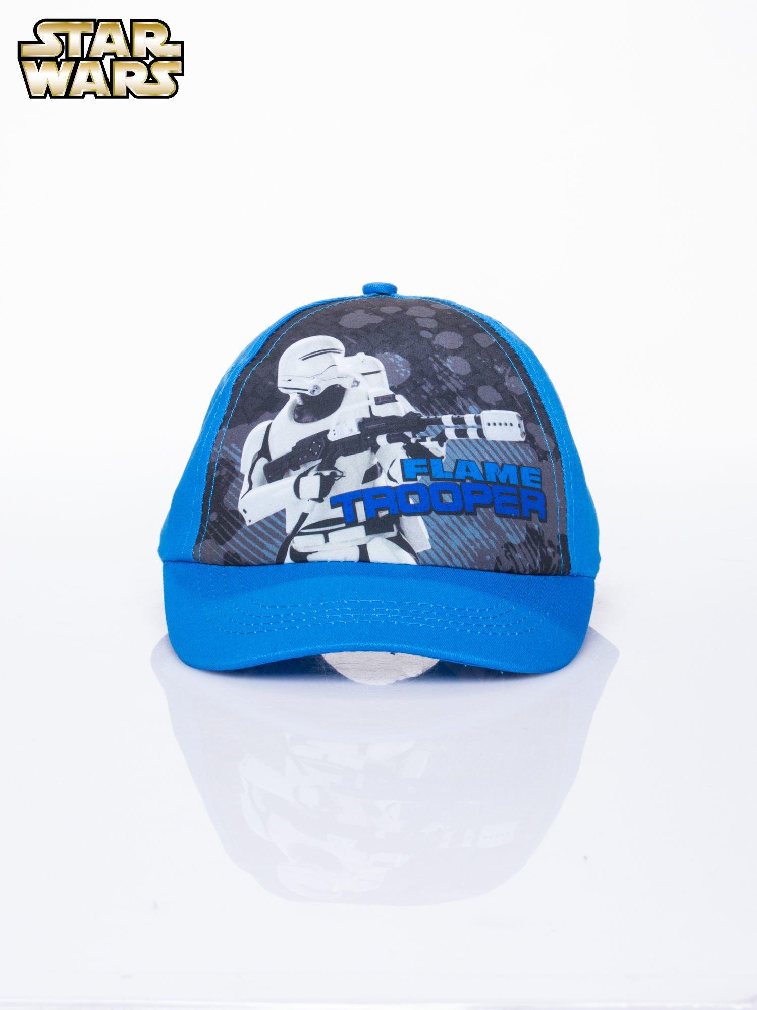 Niebieska chłopięca czapka z daszkiem STAR WARS                                  zdj.                                  1