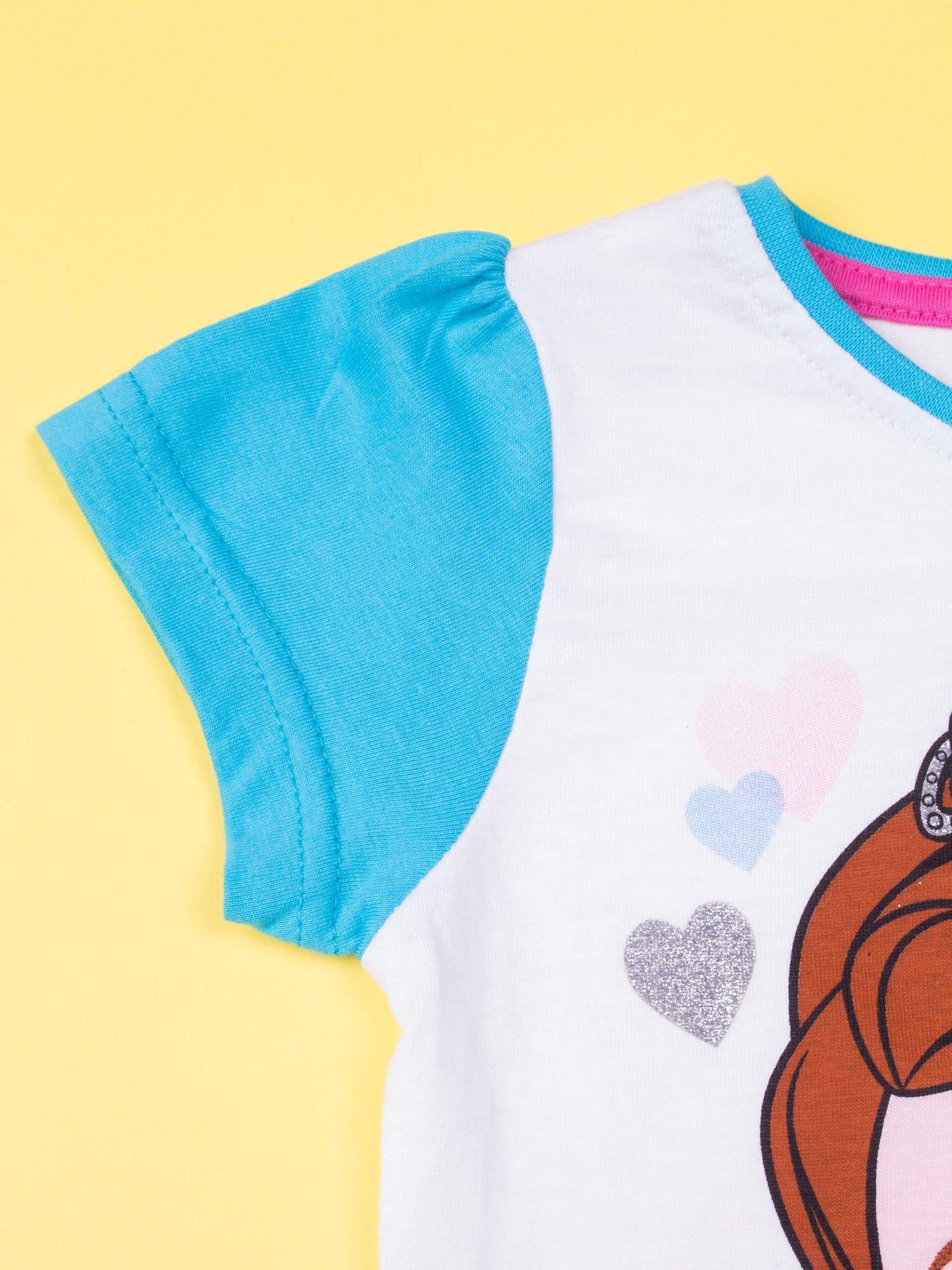 Niebieska piżama dla dziewczynki JEJ WYSOKOŚĆ ZOSIA                                  zdj.                                  6
