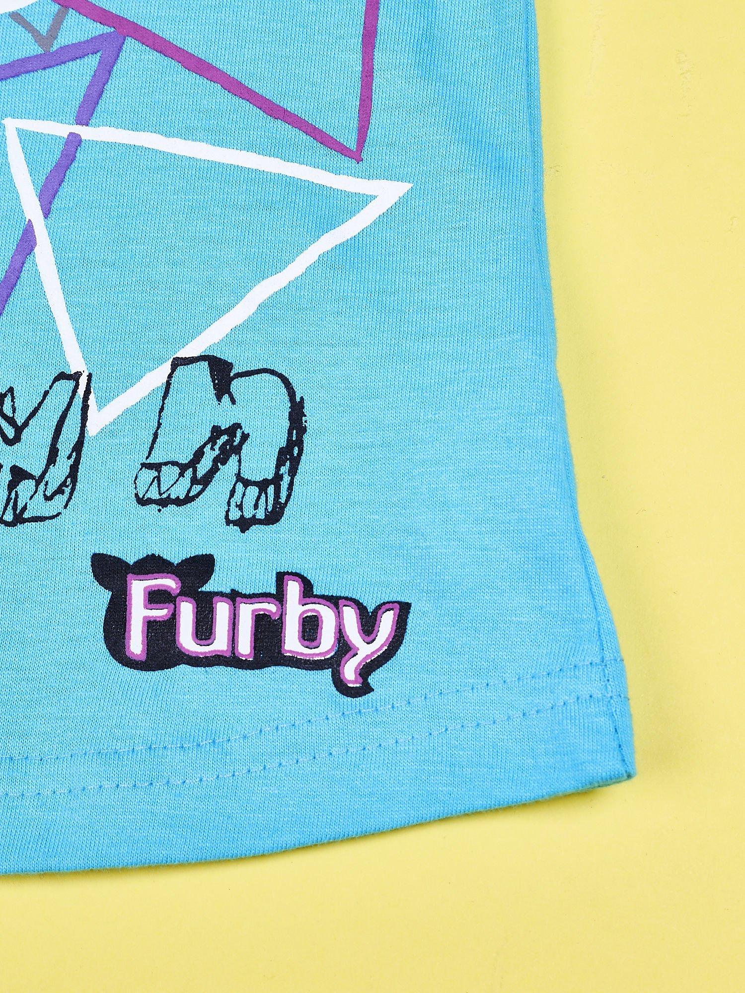 Niebieski chłopięcy t-shirt FURBY                                  zdj.                                  4