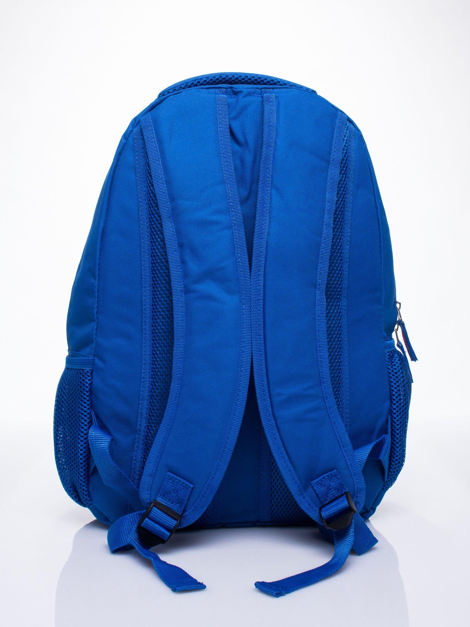 Niebieski plecak szkolny DISNEY w kwiatki                                  zdj.                                  3