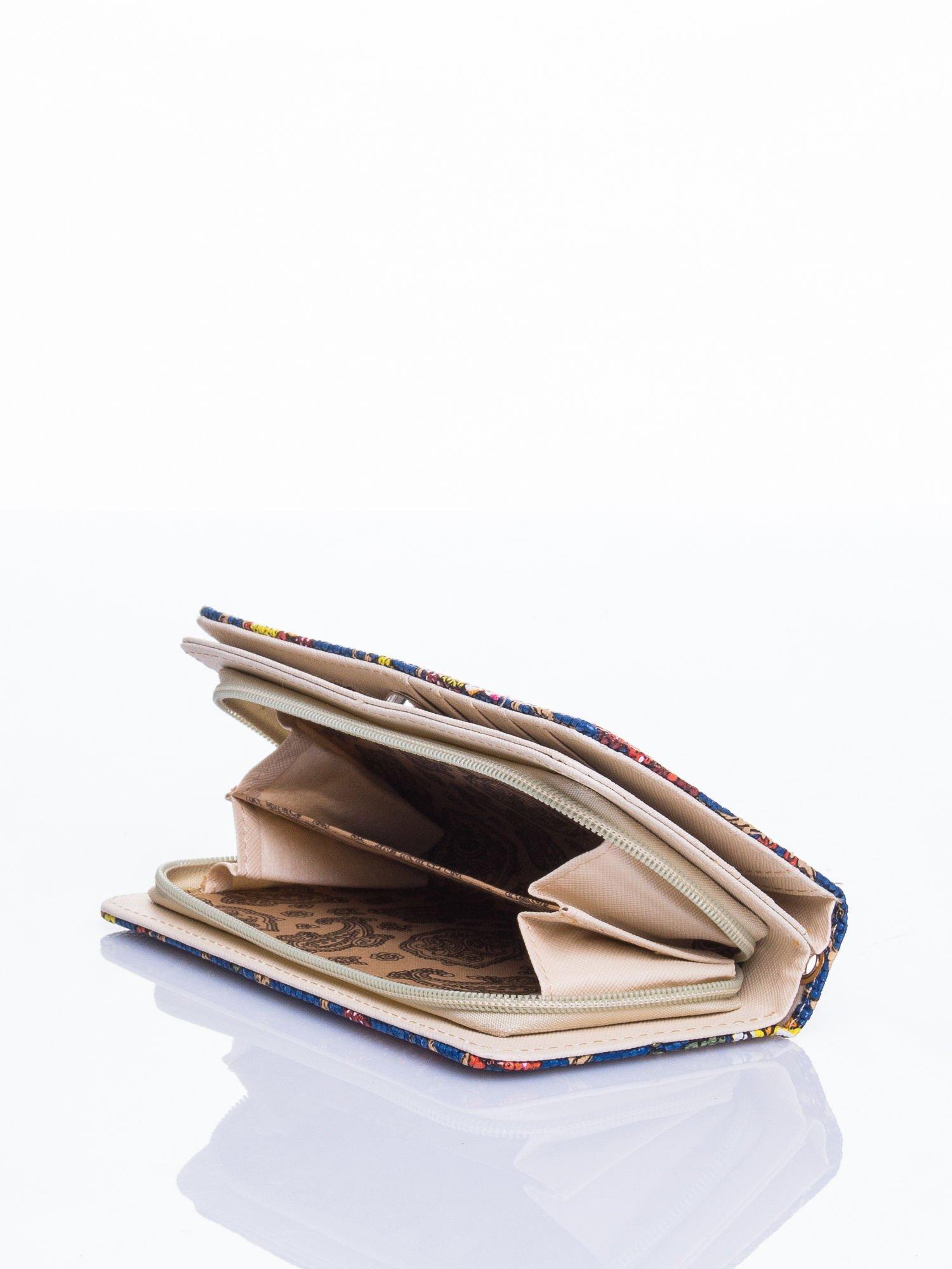 Niebieski portfel w sówki                                  zdj.                                  4