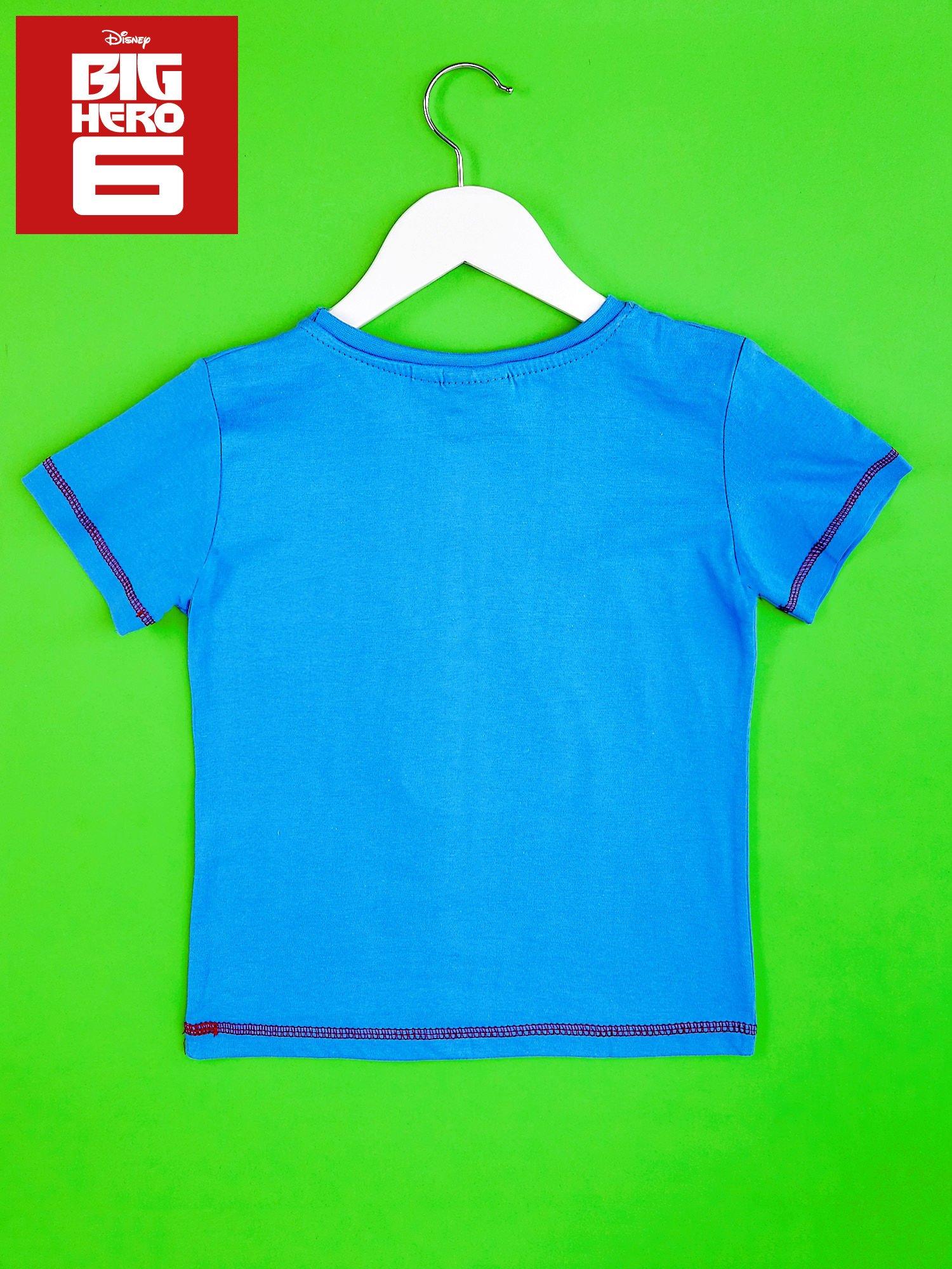 Niebieski t-shirt chłopięcy WIELKA SZÓSTKA                                  zdj.                                  2