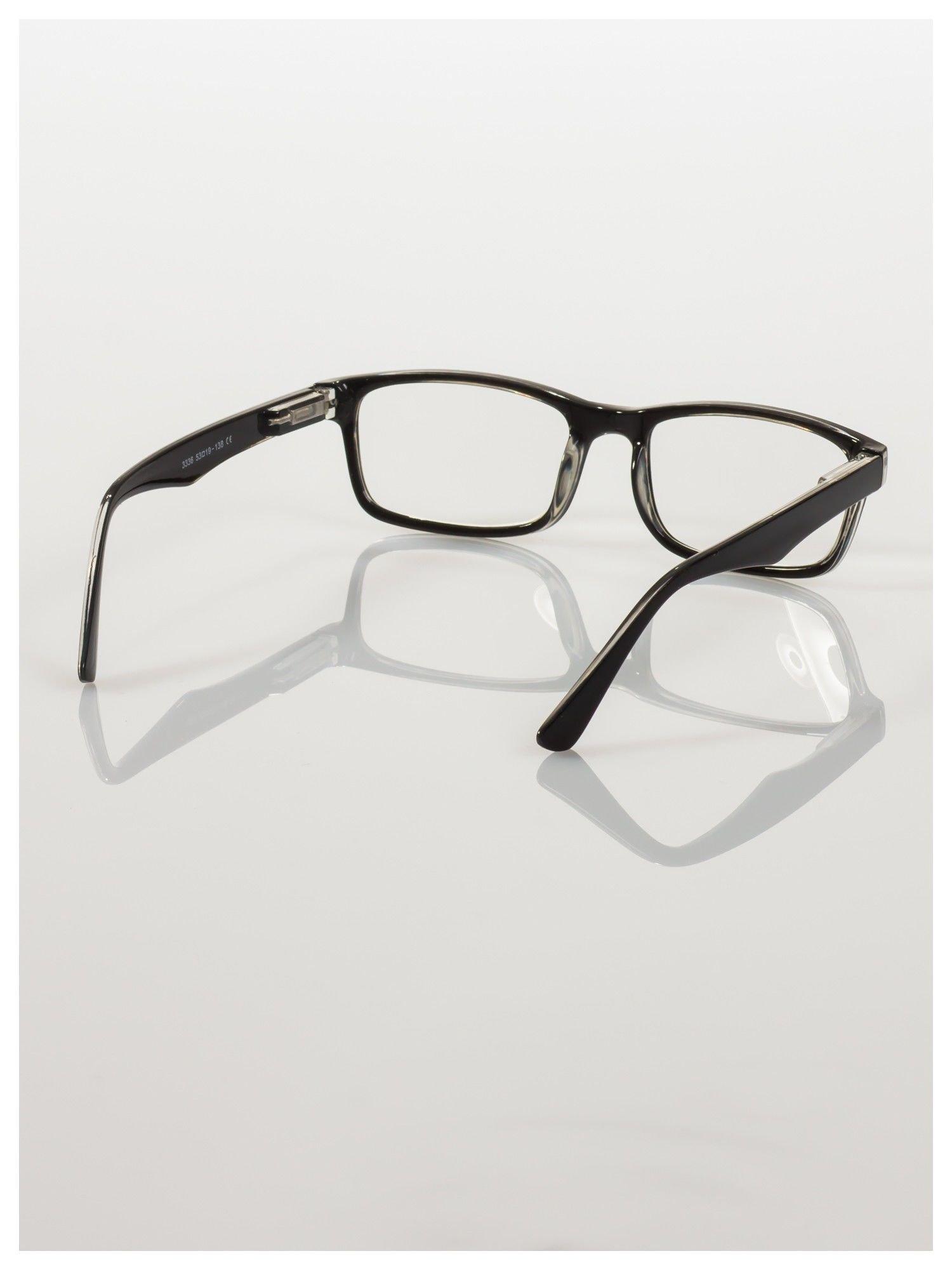 Okulary korekcyjne +2.5 D ,model WAYFARER do czytania z systemem FLEX na zausznikach +GRATIS PLASTIKOWE ETUI I ŚCIERECZKA Z MIKROFIBRY                                  zdj.                                  4