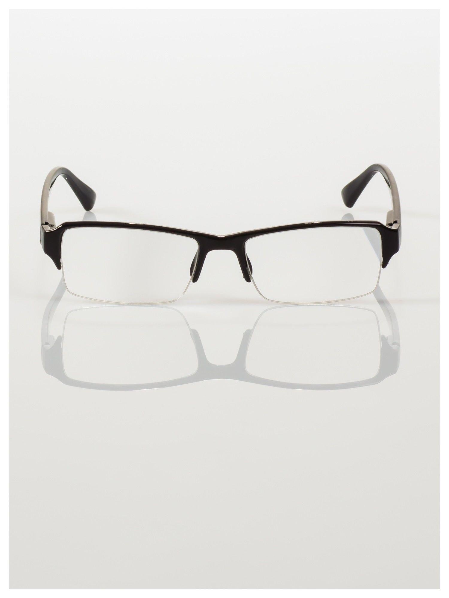 Okulary korekcyjne +3.0 D do czytania z systemem FLEX na zausznikach +GRATIS PLASTIKOWE ETUI I ŚCIERECZKA Z MIKROFIBRY                                  zdj.                                  4