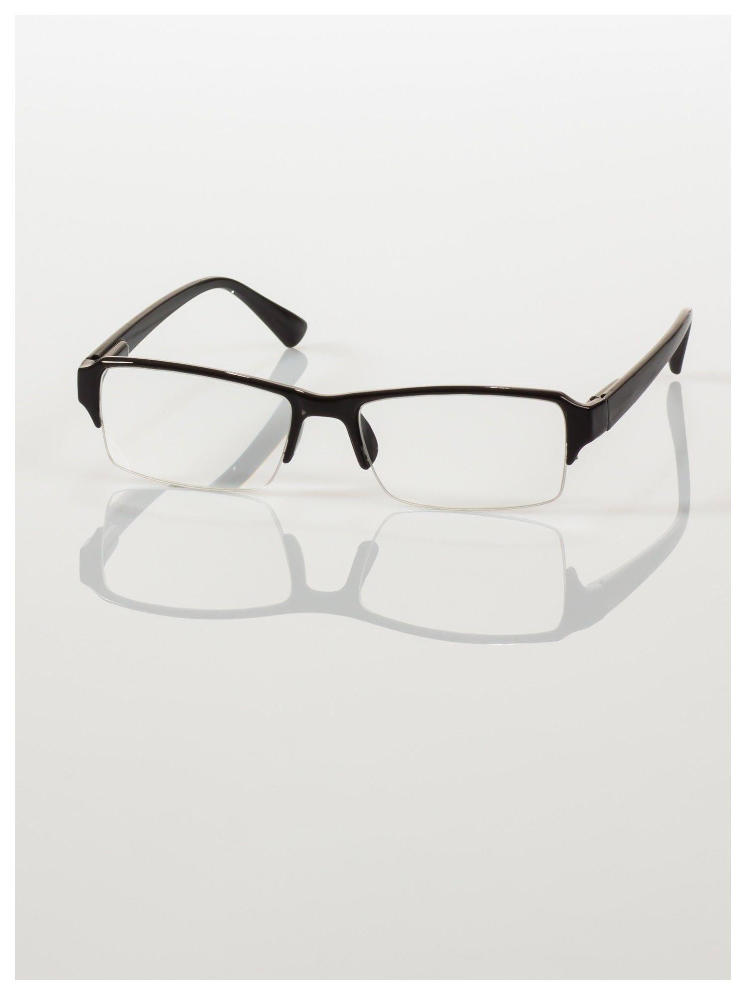 Okulary korekcyjne +3.5 D do czytania z systemem FLEX na zausznikach +GRATIS PLASTIKOWE ETUI I ŚCIERECZKA Z MIKROFIBRY                                  zdj.                                  3