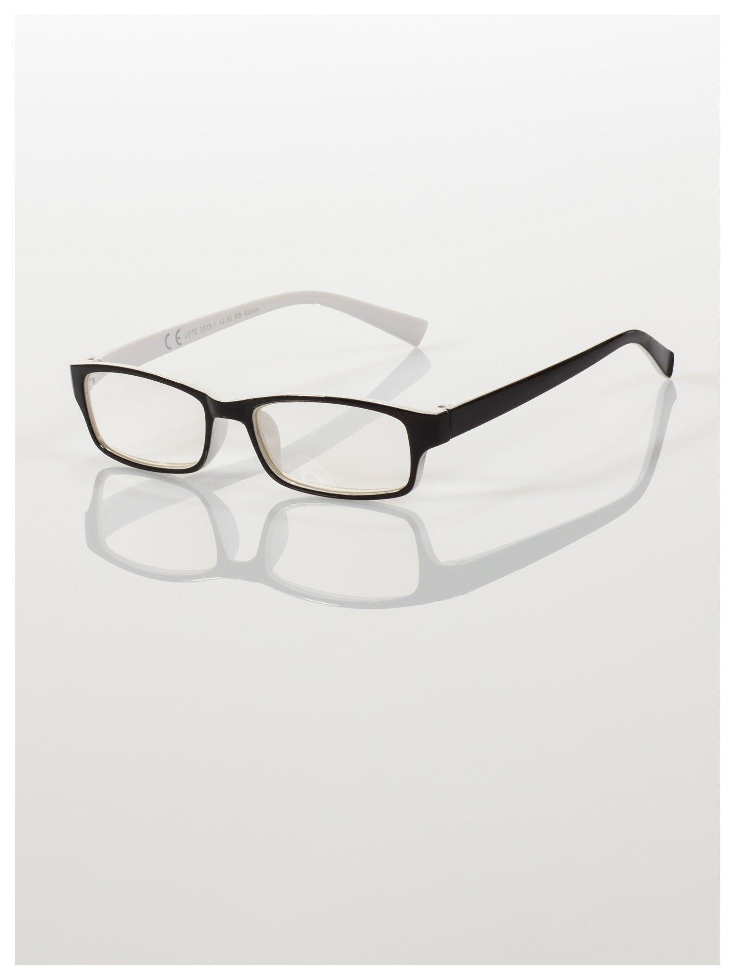 Okulary korekcyjne dwukolorowe do czytania +1.0 D                                    zdj.                                  1