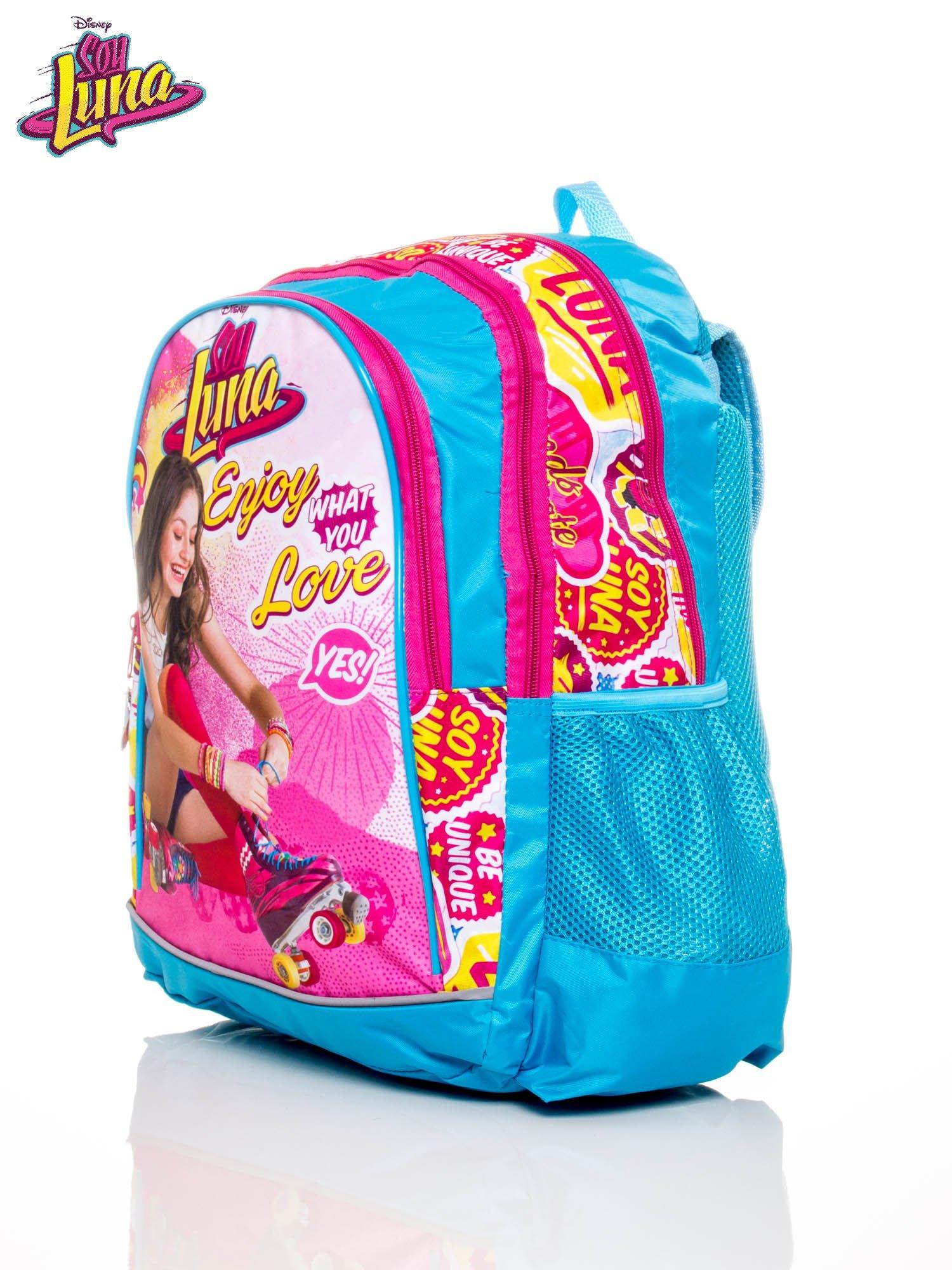 Plecak szkolny z motywem SOY LUNA