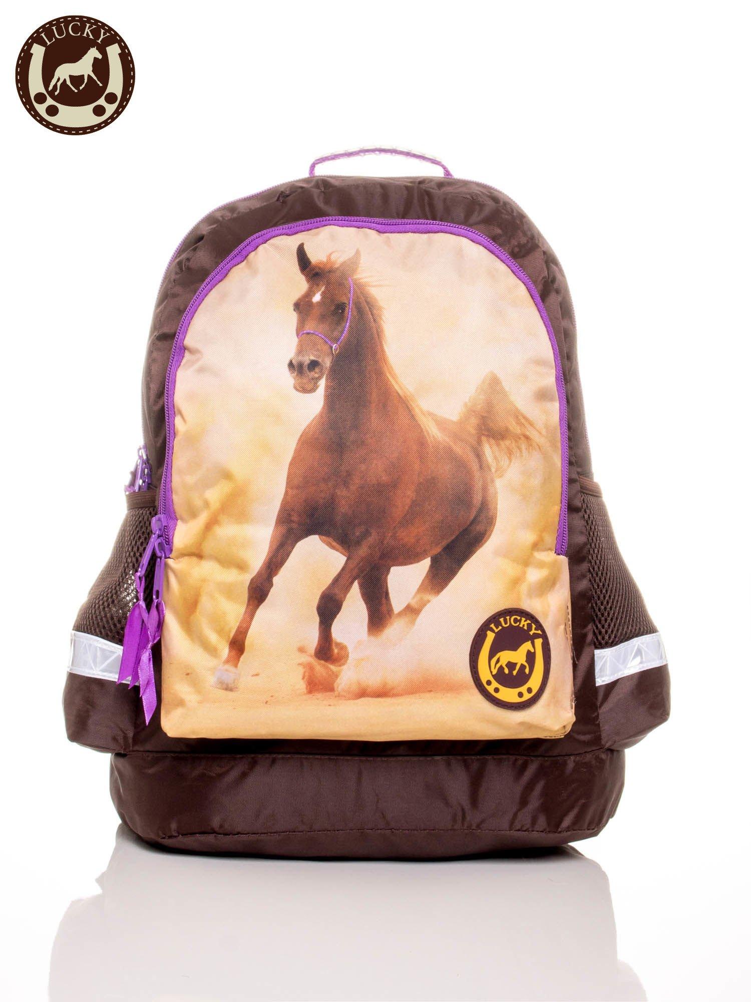 414065c014970 GRATIS!!! Plecak szkolny z nadrukiem konia - Dziecko Plecaki - sklep ...