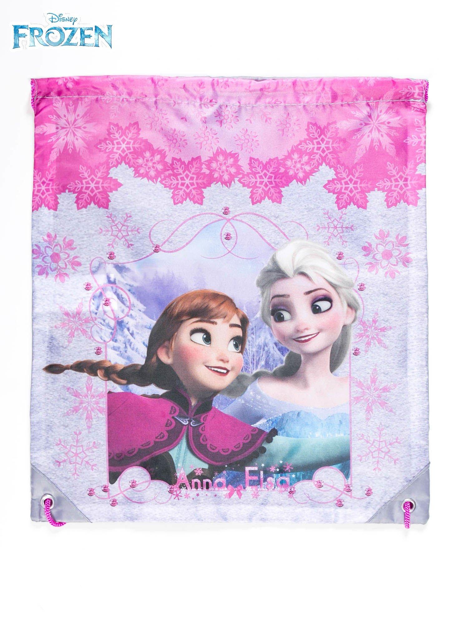 Plecak typu worek dla dziewczynki z nadrukiem FROZEN