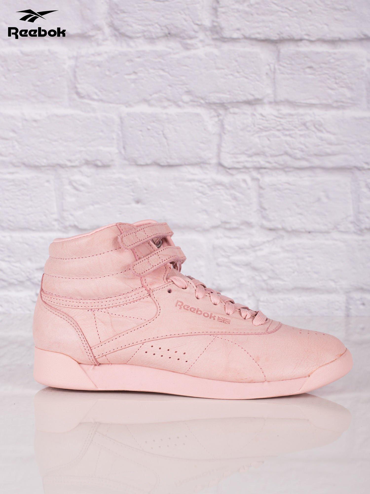 Reebok Różowe Buty Sportowe Damskie Freestyle Hi Fbt Internetowy
