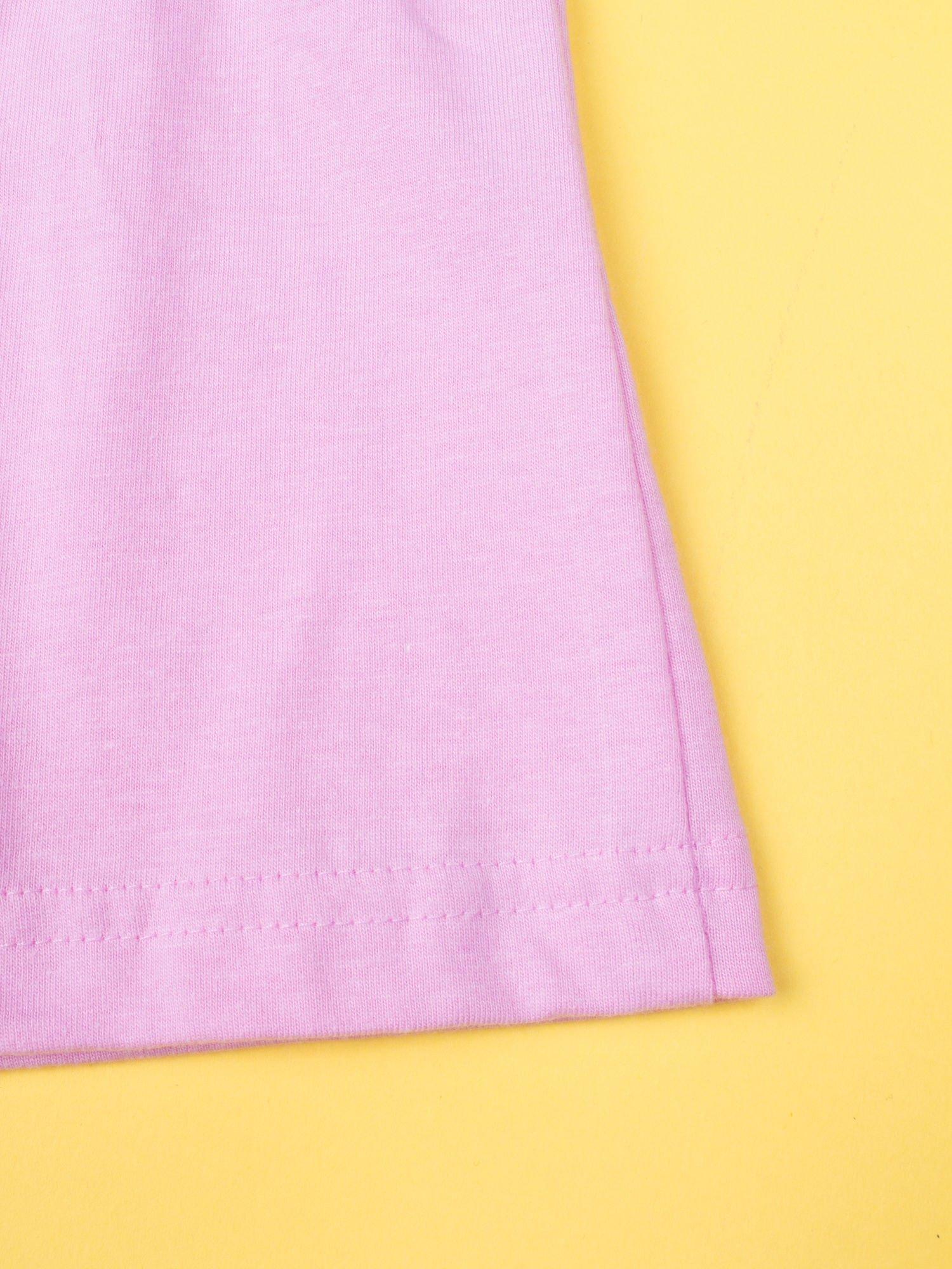 Różowa piżama dla dziewczynki KRAINA LODU                                  zdj.                                  9