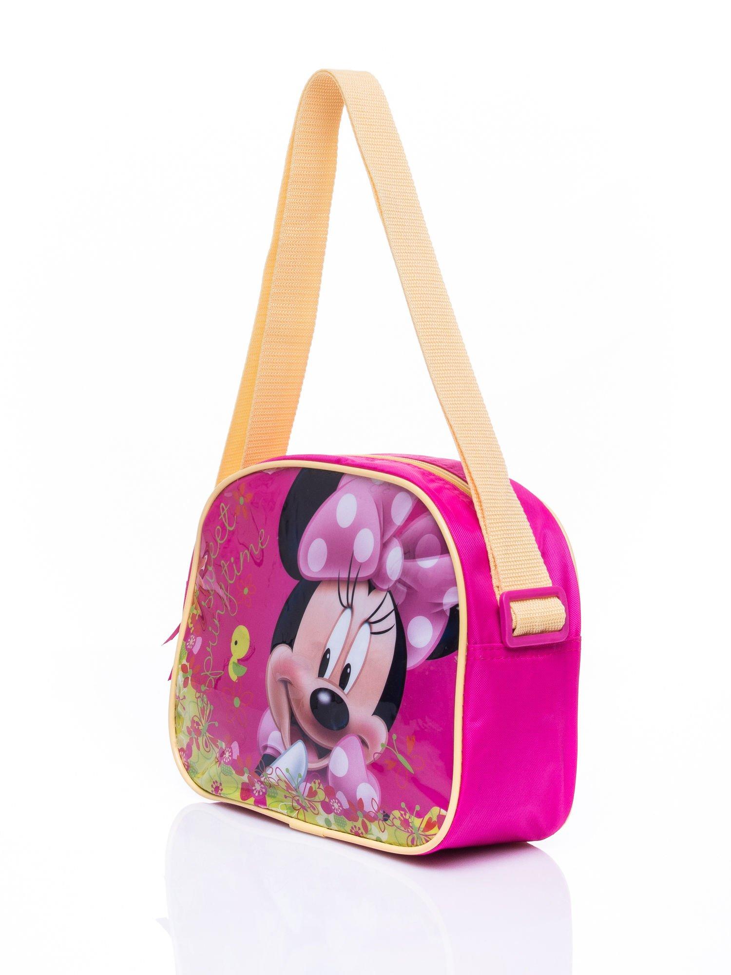 Różowa torba szkolna DISNEY Myszka Minnie                                  zdj.                                  2