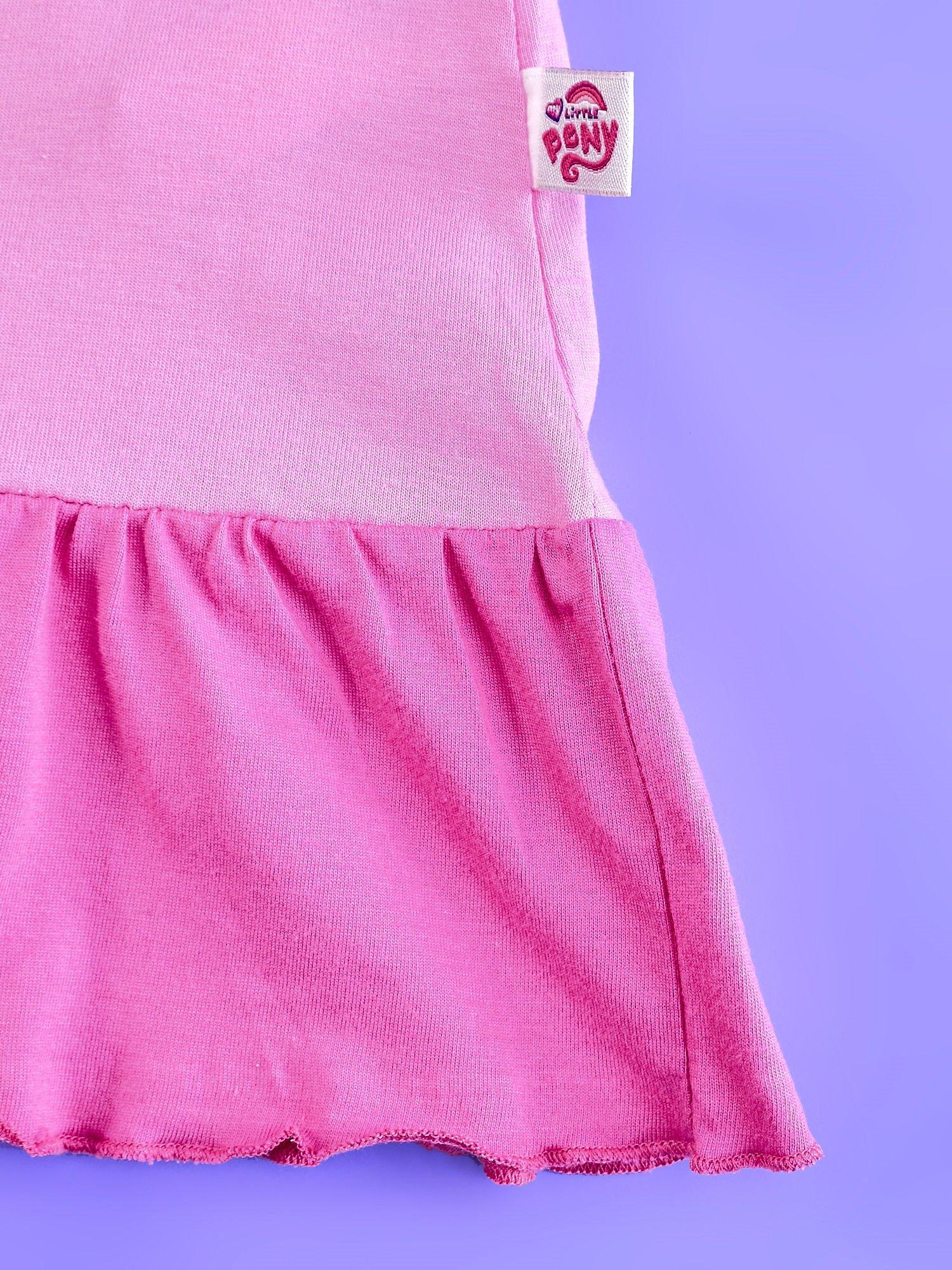Różowa tunika dla dziewczynki MY LITTLE PONY z kokardką                                  zdj.                                  5