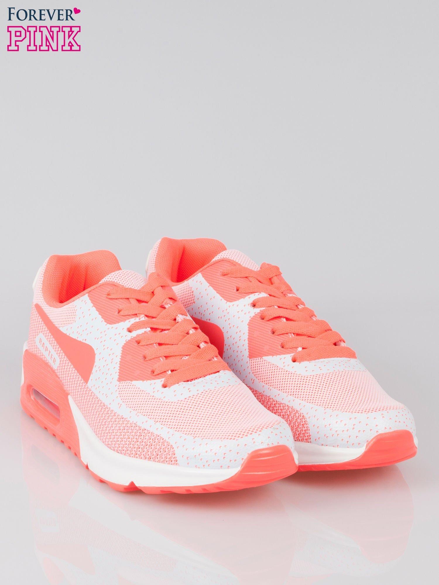 Różowe adidasy damskie na podeszwie z poduszką powietrzną                                  zdj.                                  2