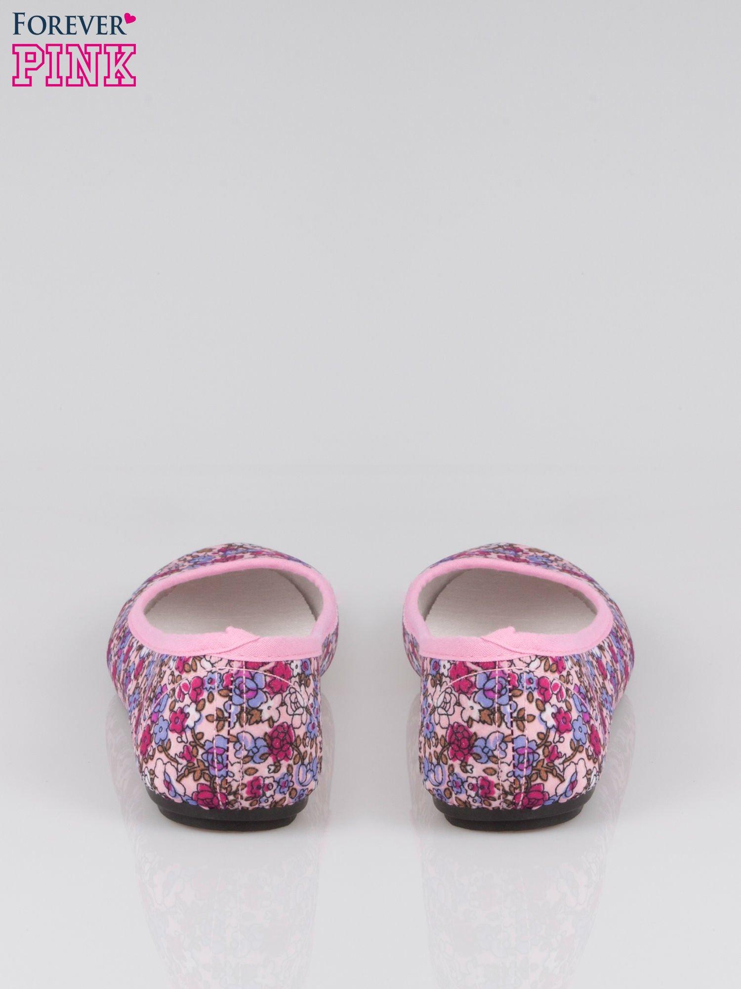 Różowe baleriny Spring Blossom w łączkę                                  zdj.                                  3