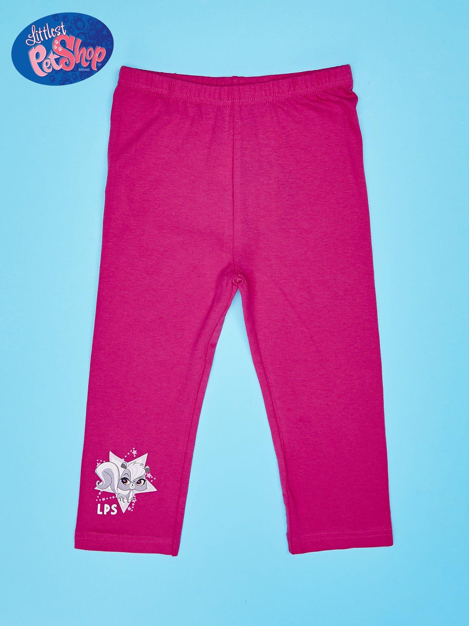 Różowe legginsy dla dziewczynki LITTLEST PET SHOP                                  zdj.                                  1
