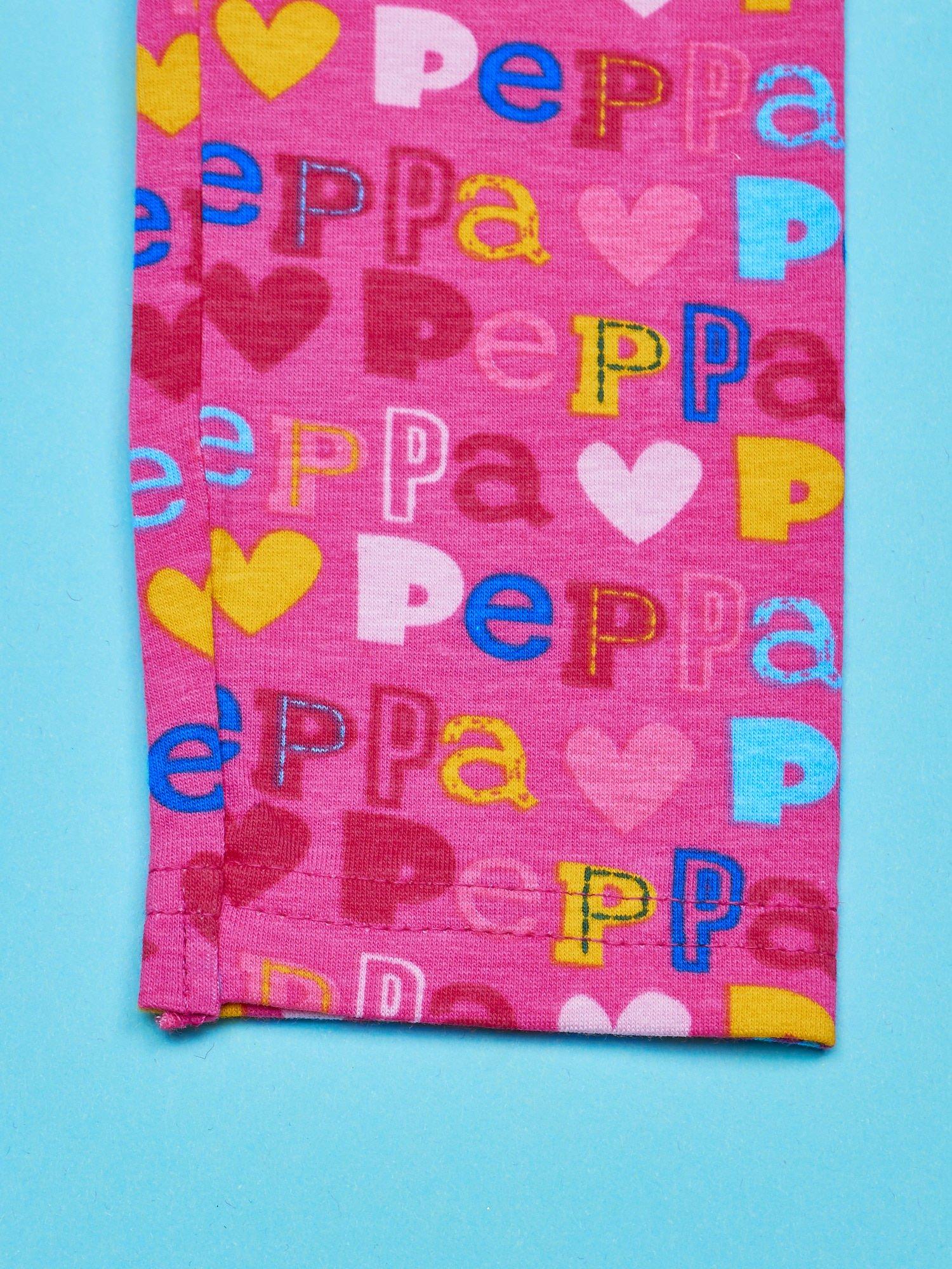 Różowe legginsy dla dziewczynki ŚWINKA PEPPA                                  zdj.                                  4