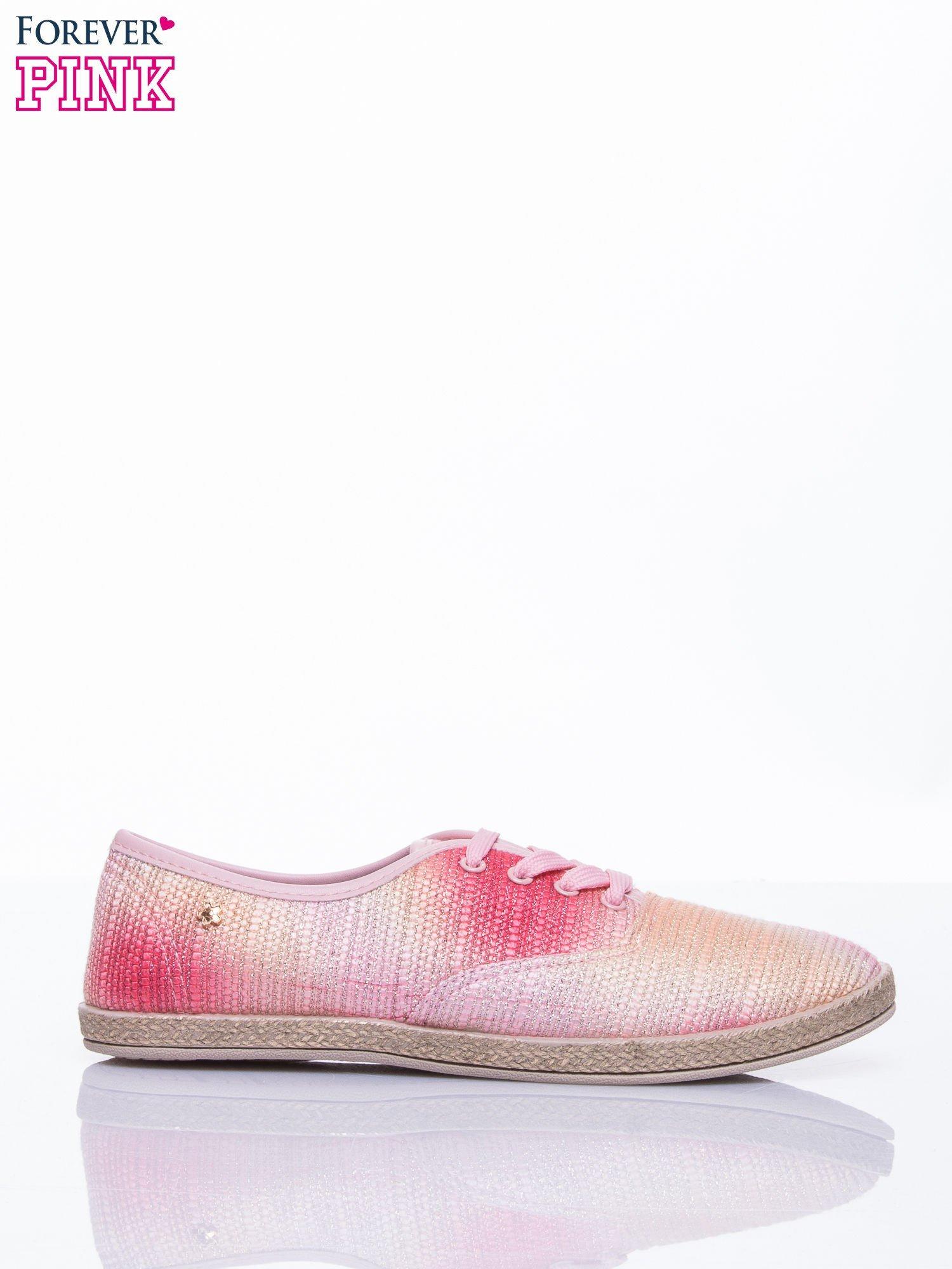Różowe tenisówki ombre Day Dream                                  zdj.                                  2