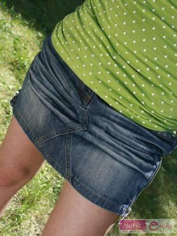 Spódnica Jeans zamek                                  zdj.                                  1