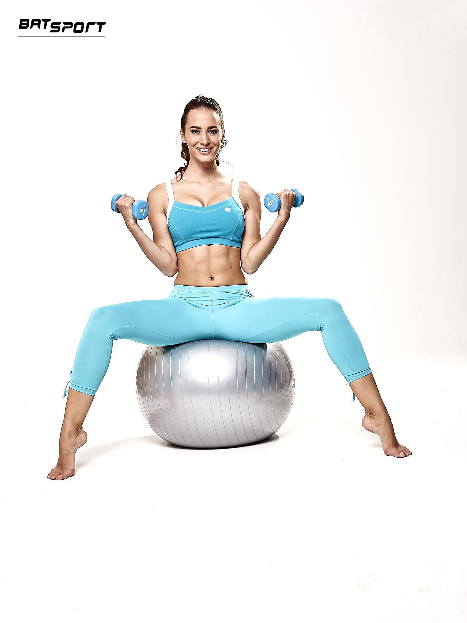 Srebrna średnia piłka fitness                                  zdj.                                  7