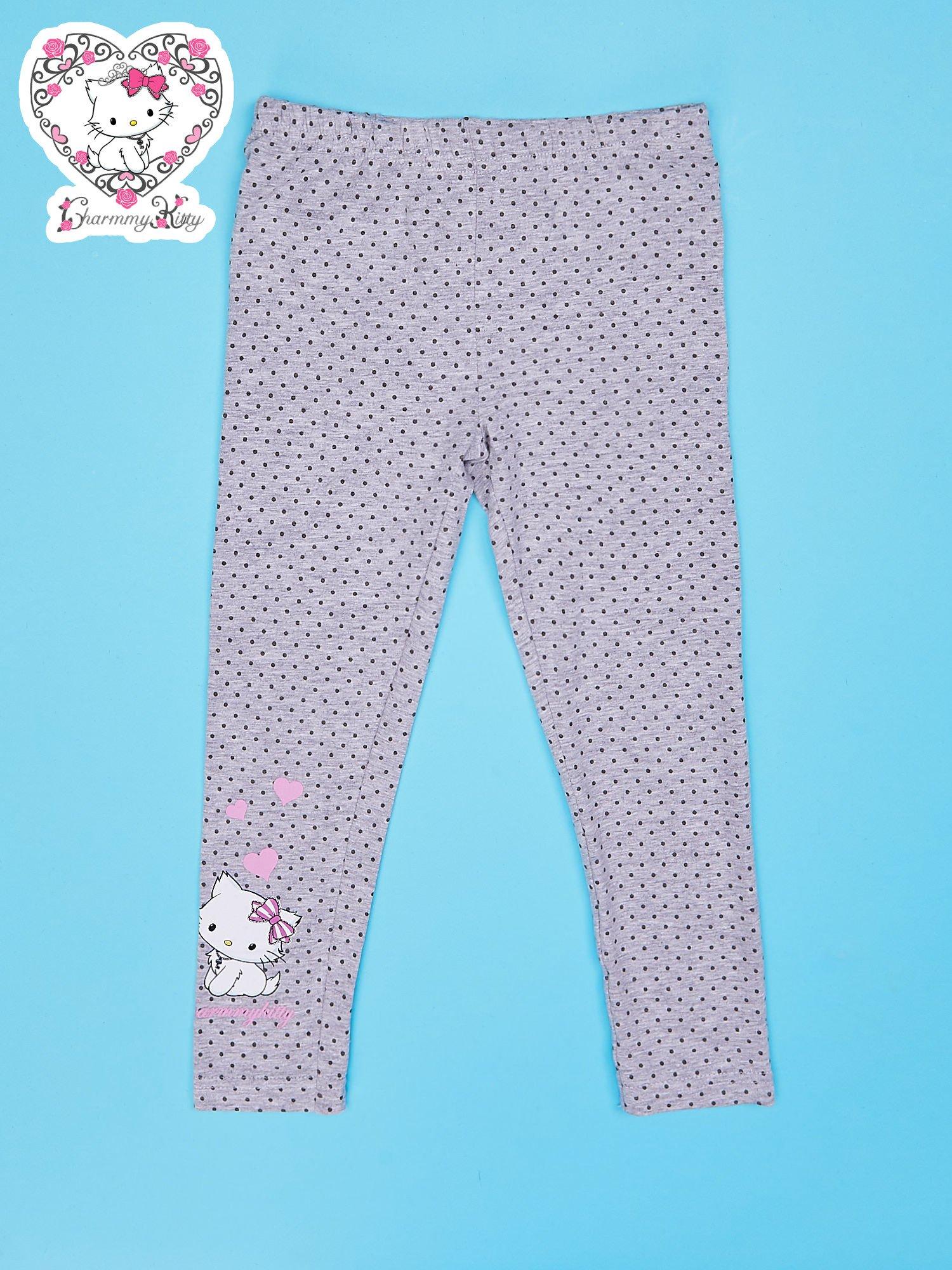 Szare legginsy dla dziewczynki CHARMMY KITTY                                  zdj.                                  1