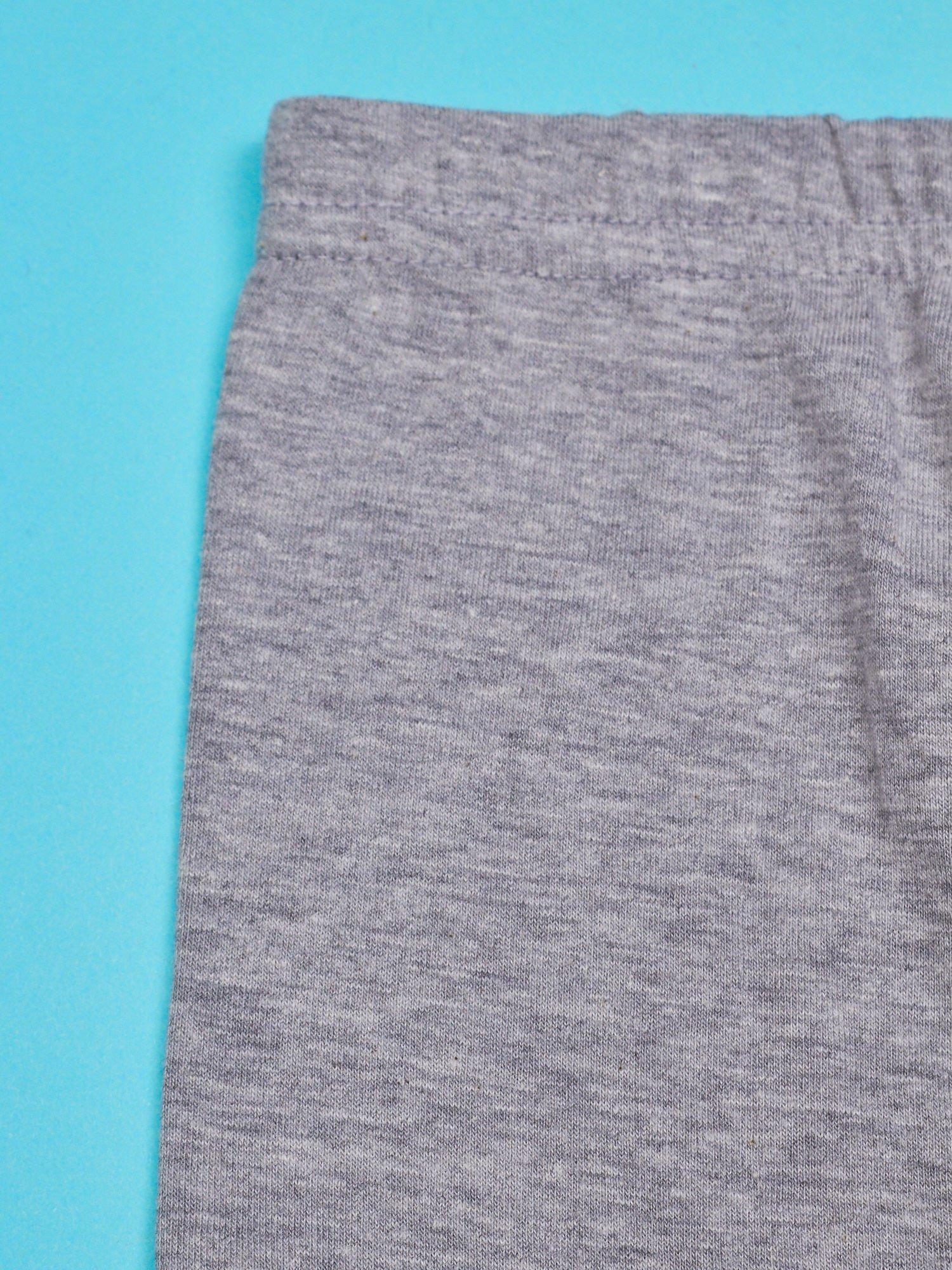 Szare legginsy dla dziewczynki motyw ŚWINKA PEPPA                                  zdj.                                  3