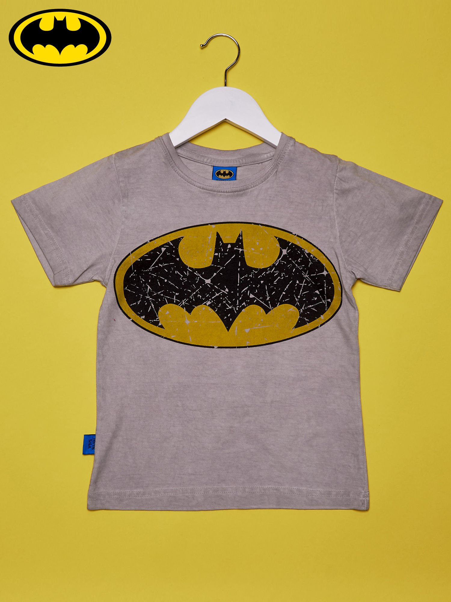 c33d79b47c2232 Szary t-shirt chłopięcy BATMAN - Dziecko Chłopiec - sklep eButik.pl