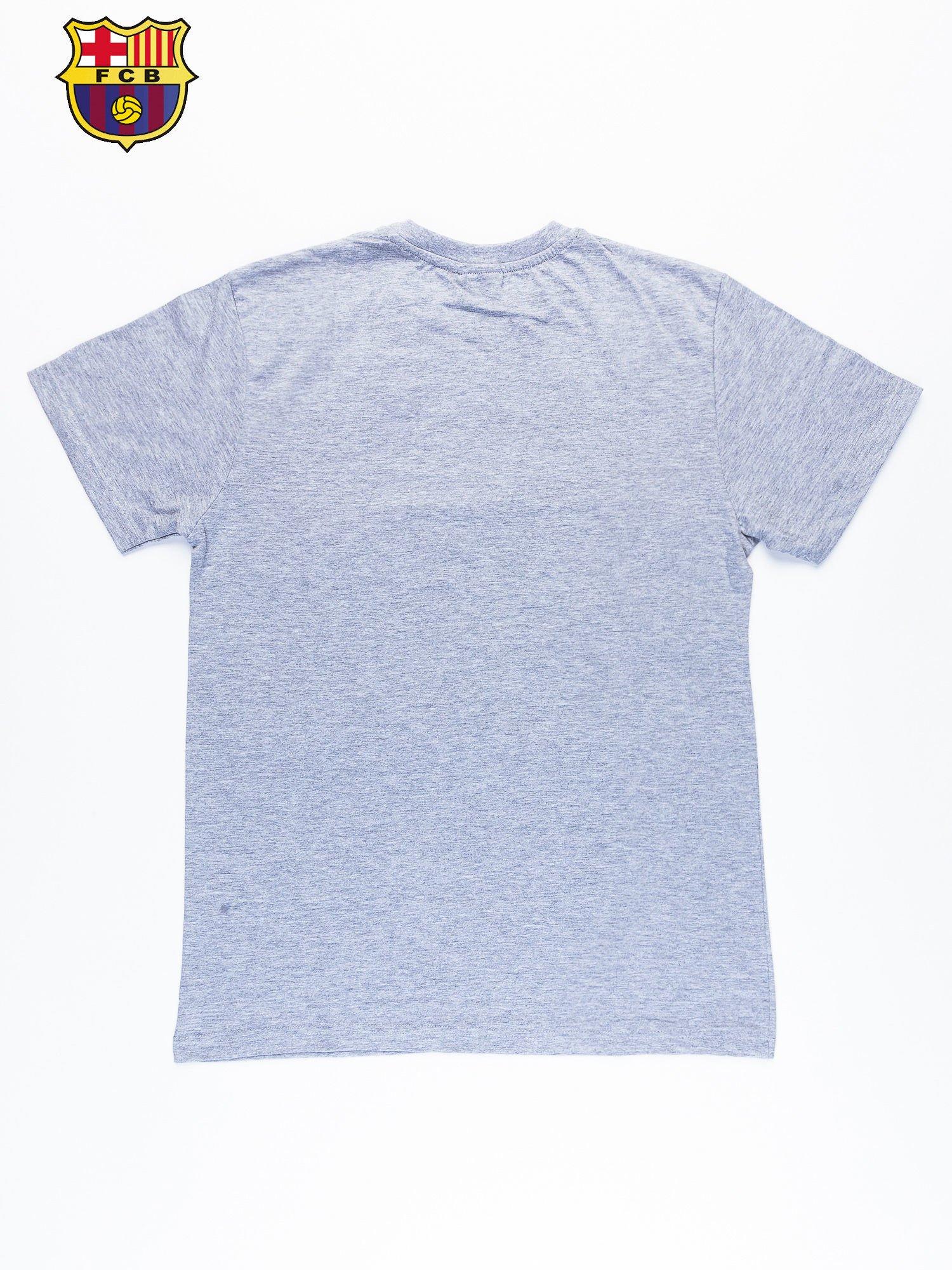 Szary t-shirt męski FC BARCELONA                                   zdj.                                  11