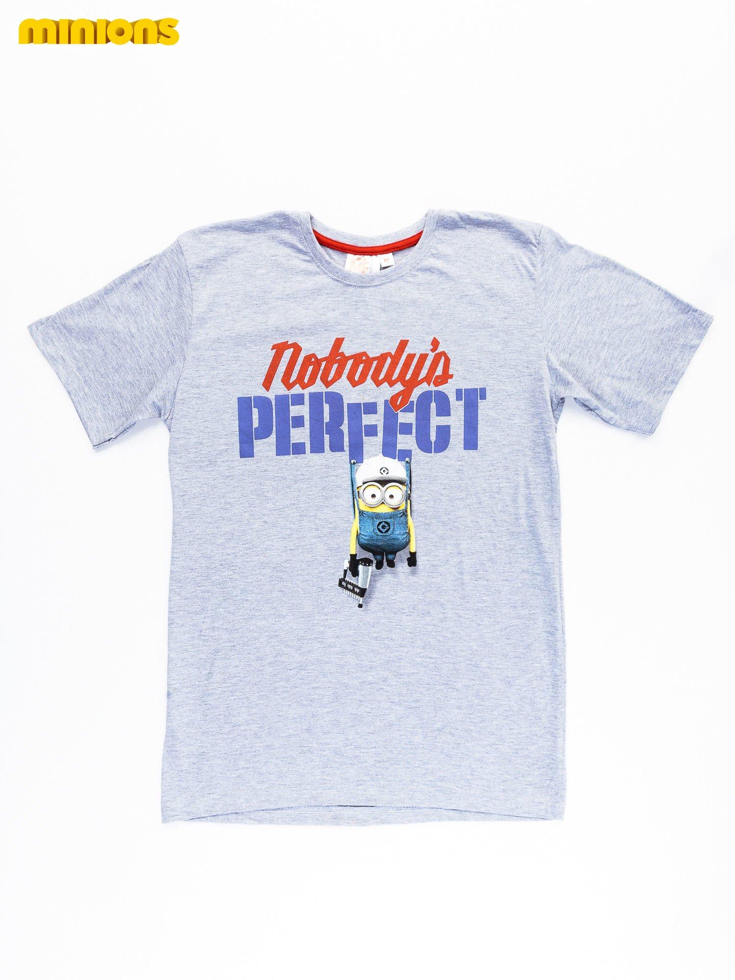 Szary t-shirt męski MINIONS                                   zdj.                                  8