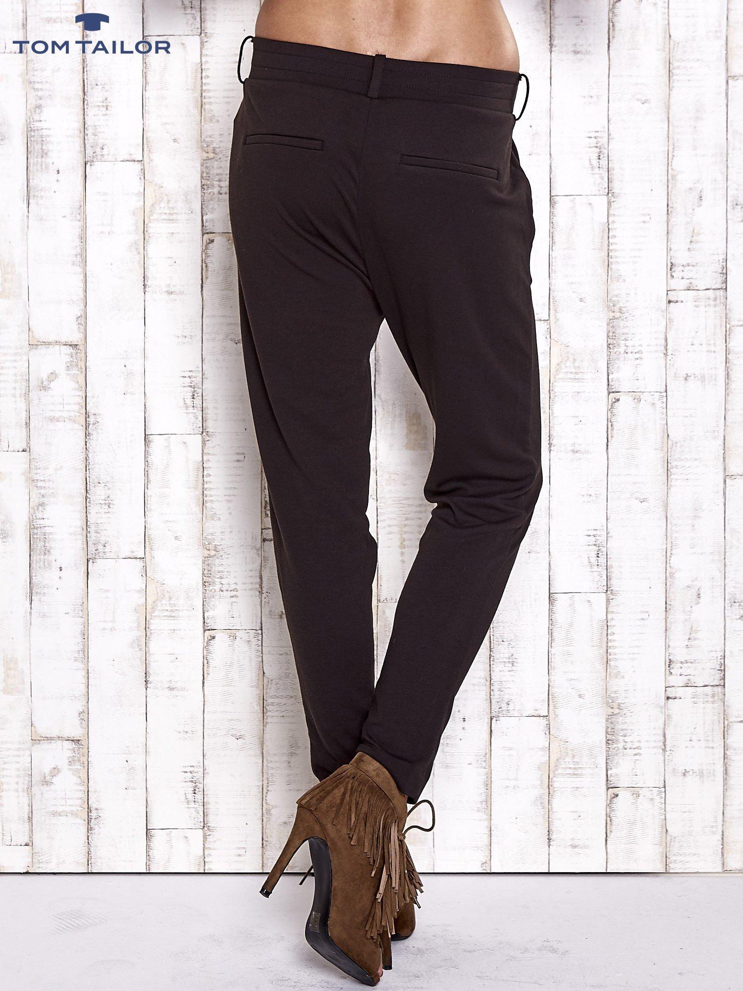 TOM TAILOR Czarne lejące spodnie                                   zdj.                                  4