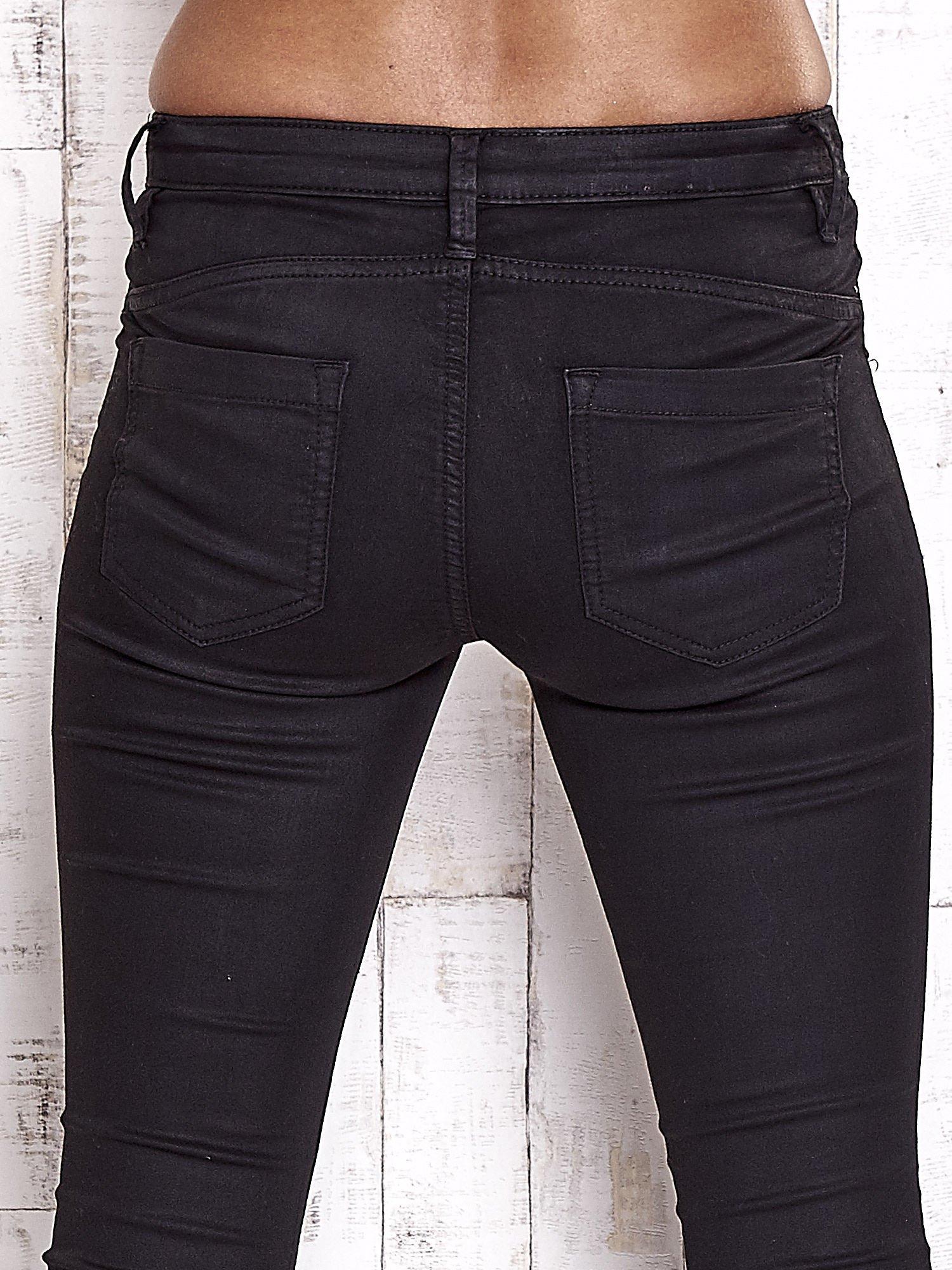 TOM TAILOR Czarne spodnie skinny jeans                                   zdj.                                  6