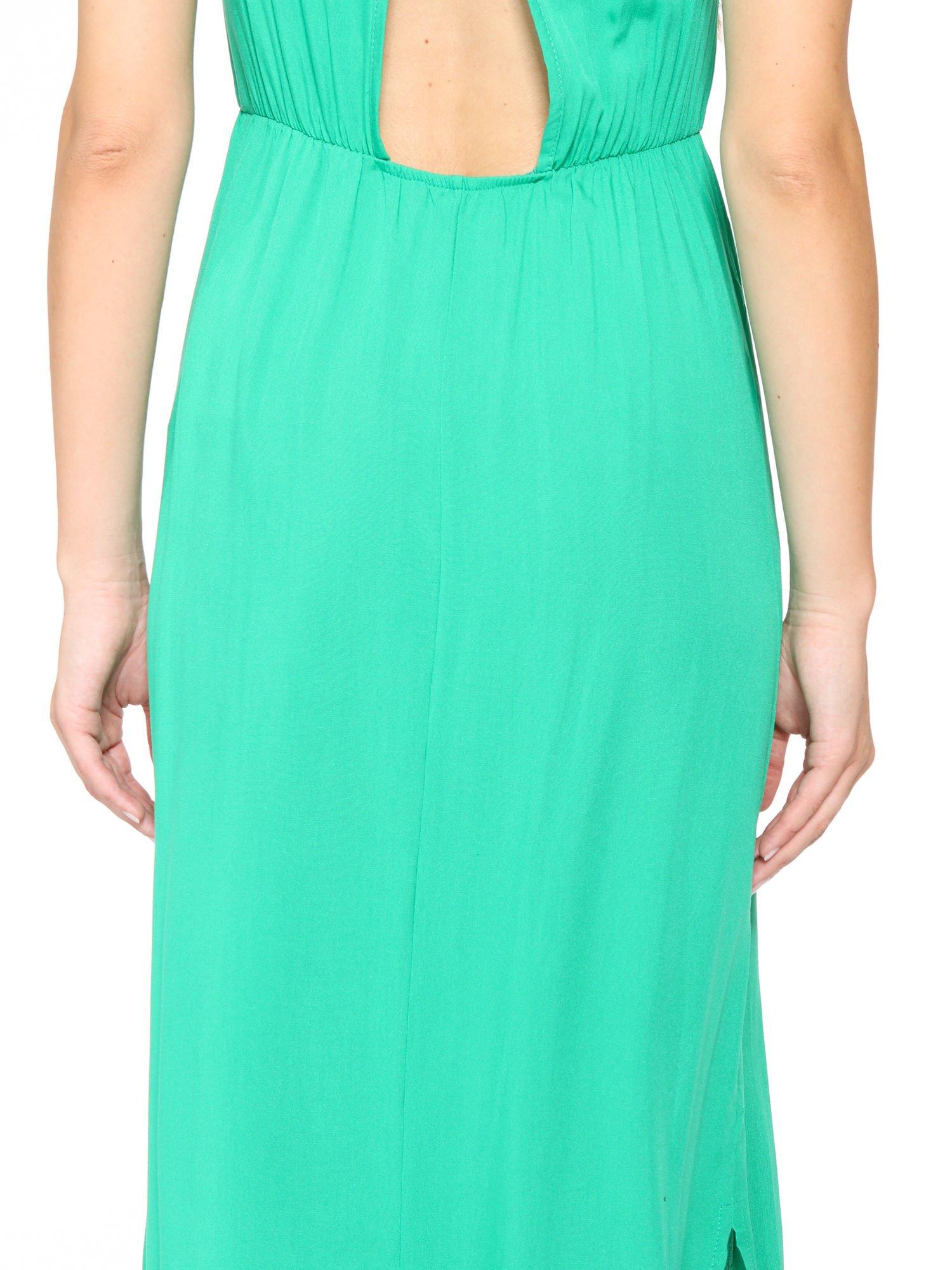 Zielona sukienka w stylu greckim                                  zdj.                                  6