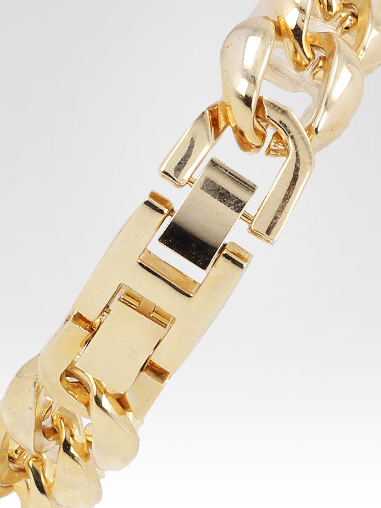 Złoty biżuteryjny zegarek damski na bransolecie z cyrkoniami                                  zdj.                                  4