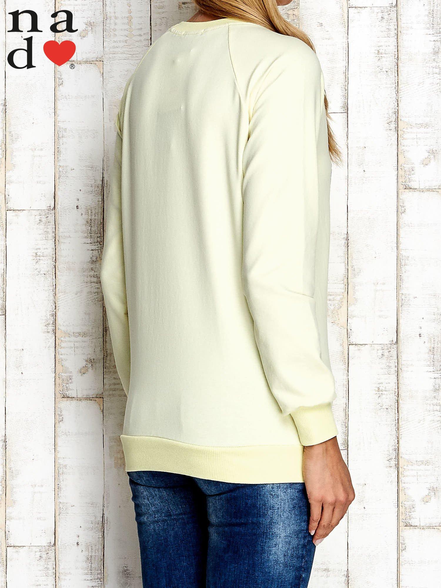 Żółta bluza z cyfrą 27                                  zdj.                                  2