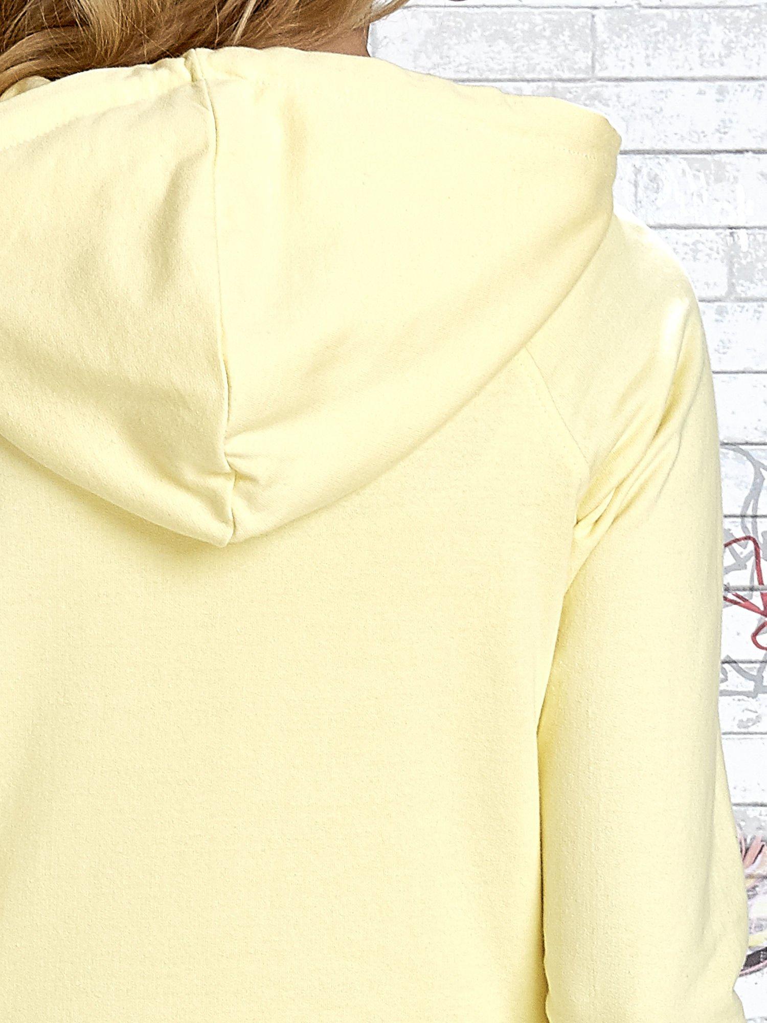 Żółta bluza z nadrukiem balonów                                  zdj.                                  8