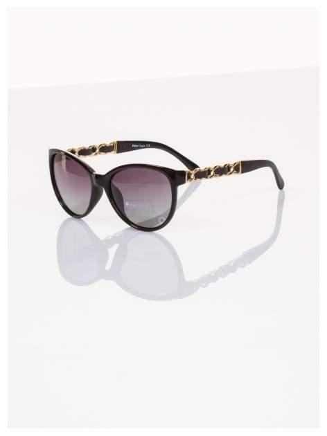 """2016 eleganckie okulary """"KOCIE OCZY w stylu Marlin Monroe""""ze złotymi zdobieniami POLARYZACJA+GRATISY                                  zdj.                                  1"""
