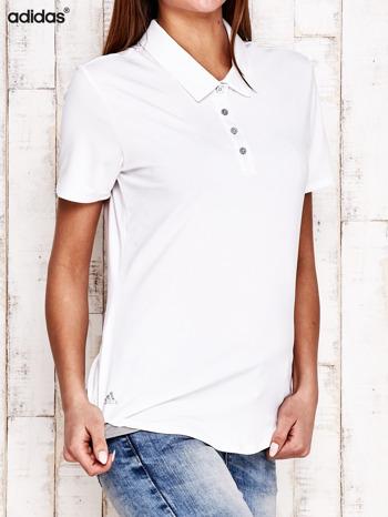ADIDAS Biała koszulka polo