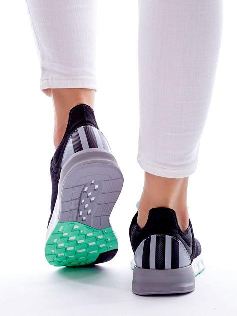 ADIDAS Czarne buty damskie do biegania Falcon Elite 5 W                                  zdj.                                  3