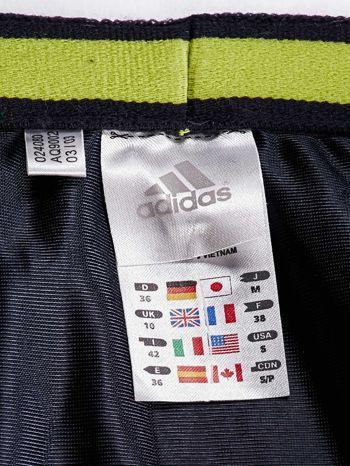 ADIDAS Zielona spódnica z lampasami                                  zdj.                                  4