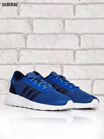 ADIDAS niebieskie buty męskie sportowe Lite Racer w graficzny wzór                              zdj.                              2
