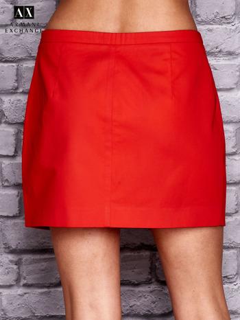 ARMANI Czerwona plisowana spódnica                                  zdj.                                  2