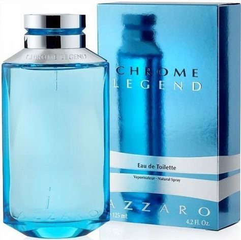 AZZARO Chrome Legend (M)EDT Męska woda toaletowa SP 125 ml                              zdj.                              1