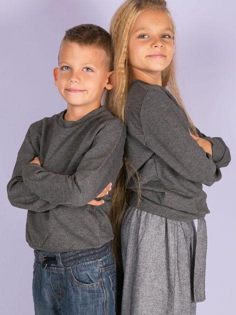 Antracytowa bluza młodzieżowa