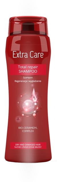 """BARWA Extra Care Szampon do włosów Total Repair - regeneracja i wygładzenie  250ml"""""""