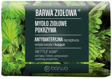 """BARWA Ziołowa Mydło ziołowe w kostce Pokrzywa 100g"""""""