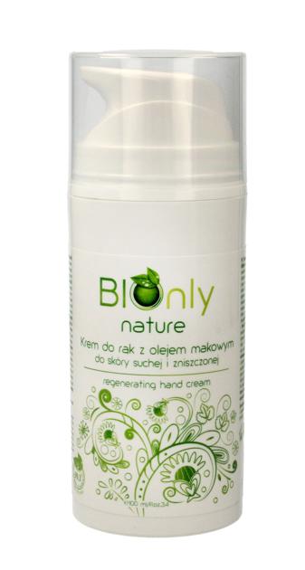 """BIOnly Nature Krem do rąk regenerujący z olejem makowym 100ml"""""""