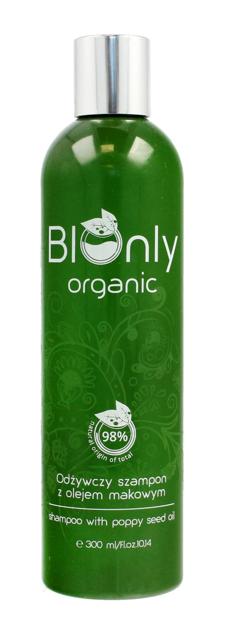 """BIOnly Organic Szampon do włosów odżywczy z olejem makowym 300ml"""""""